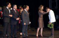 السيدة أسماء الأسد تشارك بتكريم وتتويج طلاب الأولمبياد العلمي السوري الأوائل