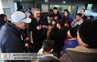 أطفال دمشق يتحدون الإرهاب ويتوافدون إلى نادي المحافظة ويغنون للوطن وقائد الوطن