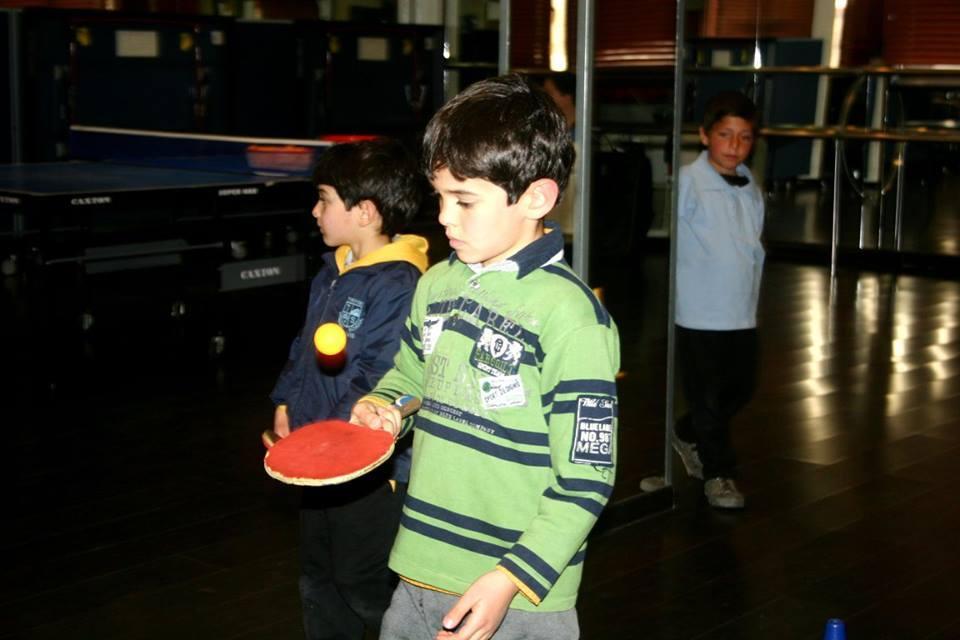 استكمال تقييم كرة الطاولة في مراكز مشروع بكرا النا