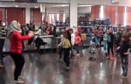 مواهب واعدة في رياضة الرقص (الزومبا) لأطفال بكرا إلنا