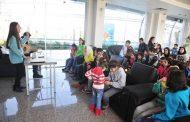 استضافة أطفال حي الورود وأطفال ال SOS في نادي المحافظة