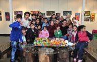 مكتب التنمية المحلية في المحافظة يستقبل أطفال حي الفردوس في النادي