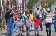 مكتب التنمية المحلية في المحافظة يستقبل أطفال حي جنود الأسد اليوم