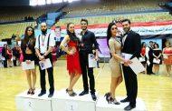 مستويات جيدة في بطولة الجمهورية للرقص الرياضي