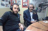 السيد محمد السباعي ضيف برنامج (الرياضة السورية) على إذاعة صوت الشباب