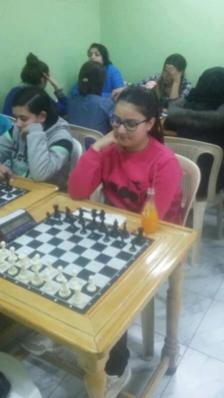 تدريبات بكرا إلنا بالشطرنج مستمرة في المركز الرئيسي