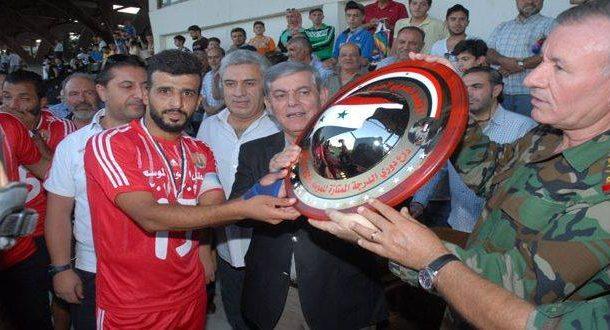 الجيش يتوج ببطولة الدوري الممتاز لكرة القدم