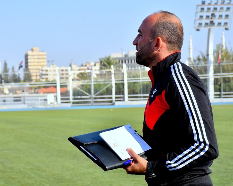 (( الراشد )) م. مدرب كرة المحافظة : تشرين من الفرق المتكاملة وسنقدم مستوى يليق بالمحافظة