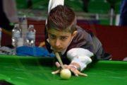 لاعب المحافظة وبطل العرب بالسنوكر يزن الحداد: طموحي الوصول إلى العالمية