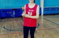 غزل بلان لاعبة المحافظة: أتمنى انتظام مواعيد الحصص التدريبيّة