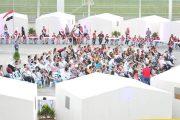 ضمن فعاليات اليوم الثاني لمعسكر الوفاء لجيشنا الباسل.. همة عالية وحماسة وتكريم المميزين في الرقص