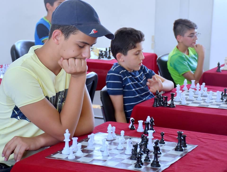 تألّق أذكياء المحافظة في بطولة الجمهوريّة للشطرنج ( لين بطلة الإعداديّة وقاسم الثالث الثانويّ)..