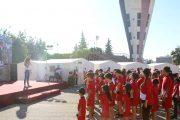 بمشاركة 140 طفلاً وطفلةً.. انطلاق فعاليات معسكر الوفاء للجيش العربي السوري في دمشق