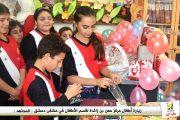 مبادرة مركز معن بن زائدة ترسم البسمة على وجوه أطفال مشفى دمشق (المجتهد)