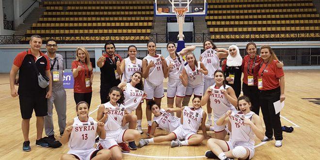 منتخب شابات سورية لكرة السلة يخسر أمام كازاخستان في البطولة الآسيوية