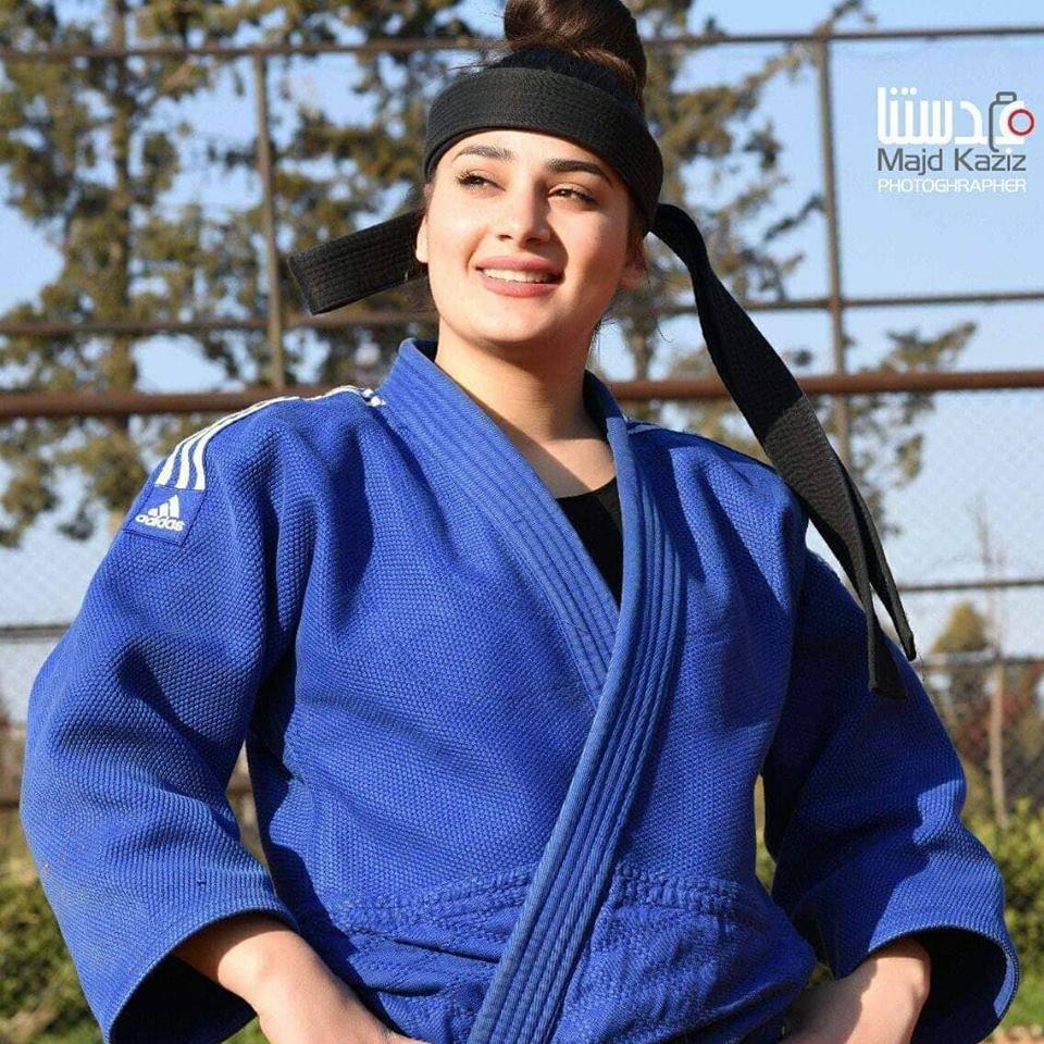 لاعبة منتخب سورية بالجودو حسنة سعيد :الرياضة حياتي