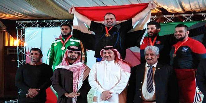 حرستاني يحرز الميدالية الذهبية في بطولة أندية غرب آسيا لرفع الأثقال