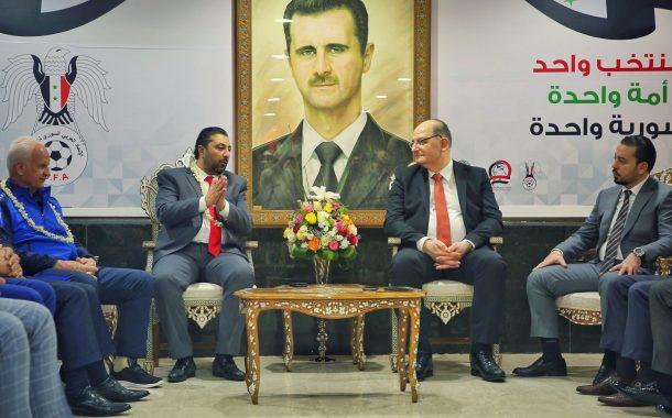 السفارة السورية ومجموعة دامسكو تكرّمان نسور قاسيون