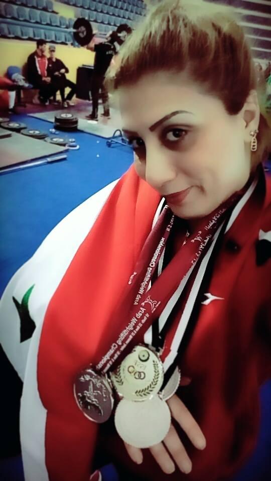 ناهيل دياب ...غايتي رفع علم بلدي في المحافل الآسيوية والأولمبية