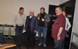 وفد رياضيّ من أبخازيا يزور منشأة نادي المحافظة