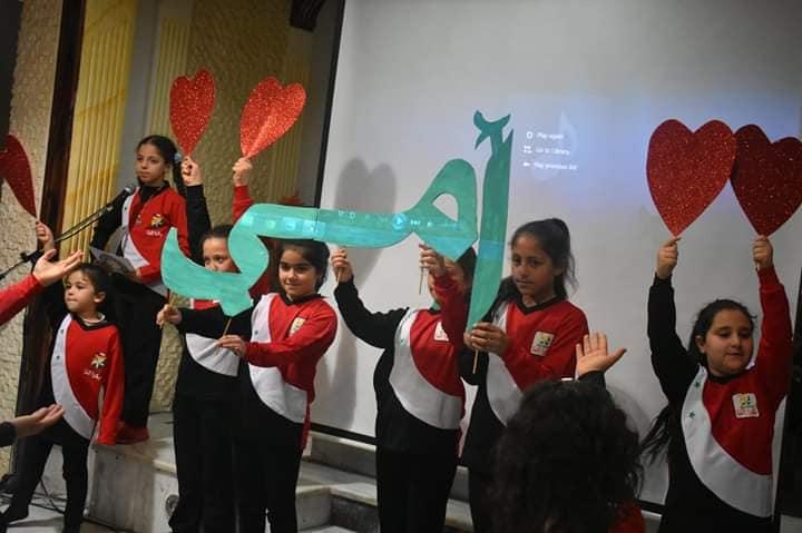 مواهب مركز المـتنبـي يشاركون بتكريم أمّهات الشهداء ومدراء المدارس