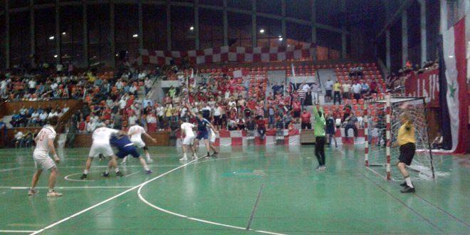 الطليعة يلتقي الجيش في التجمع النهائي لدوري كرة اليد للرجال