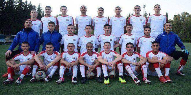 منتخب سورية للناشئين بكرة القدم يجدد فوزه على نظيره الأردني ودياً