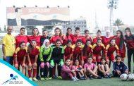 الفوز بستة أهداف لســيدات المحافظة بكرة القدم