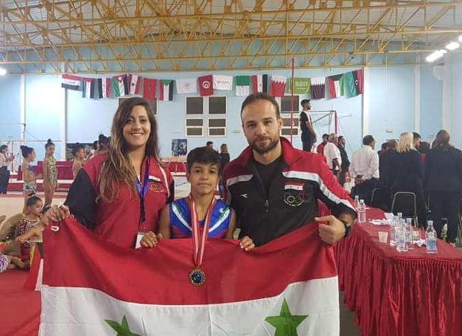 ذهبيّة وفضيّة لجمباز المحافظة بتونس ...لونُ الإنجازِ بعلمِ الوطن