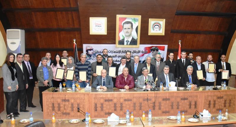 تكريم الفائزين بمسابقة القلم الذهبي لعام 2019