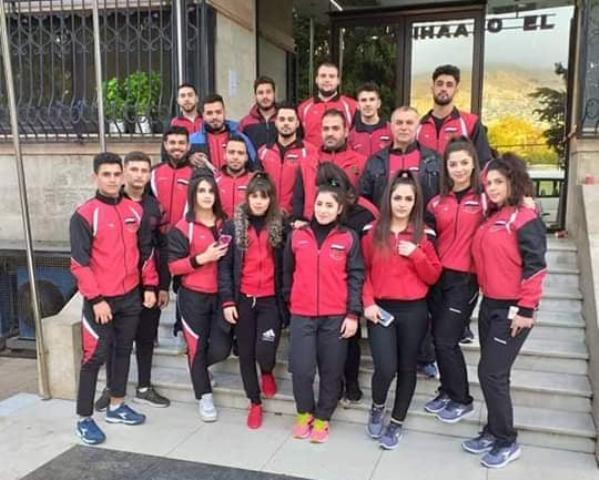 ربّاعو المحافظة يحصدون الذهب في بطولة العرب