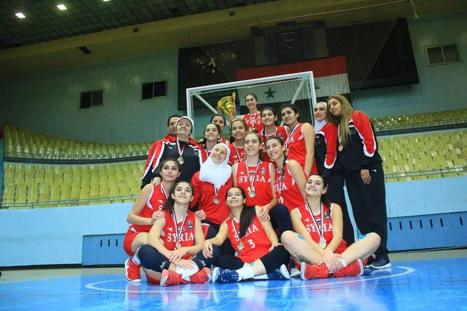 افتتاح بطولة غرب آسيا لكرة السلة