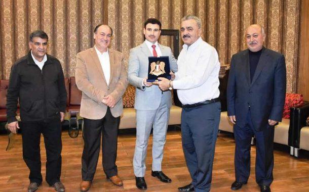 الجمعية السورية للخيول العربية الأصيلة تكرّم نادي المحافظة