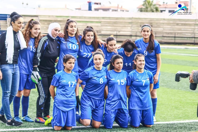 سيدات المحافظة لكرة القدم تودع الدوري