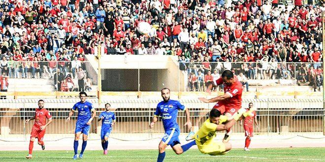 مباريات تحضيرية للنواعير والطليعة بكرة القدم