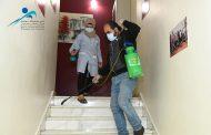 نادي محافظة دمشق الرياضيّ: «حملة تنظيف وتعقيم وإجراءات وقائيّة»