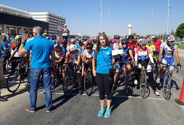زينه بلال: الدراجات رياضة صعبة لكن فيها تنافس ومتعة
