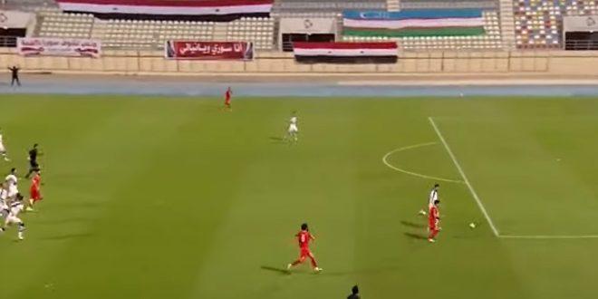 منتخب سورية لكرة القدم يفوز على نظيره الأوزبكي ودياً