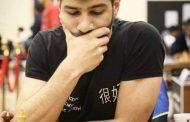 لاعب نادي المحافظة مالك قونيه لي ثالثاً في البطولة العربية للشطرنج