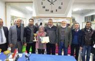 لاعبة نادي المحافظة فاطمة الزهراء مراد تحرز لقب بطولة الجمهورية بالشطرنج للعام الثاني على التوالي