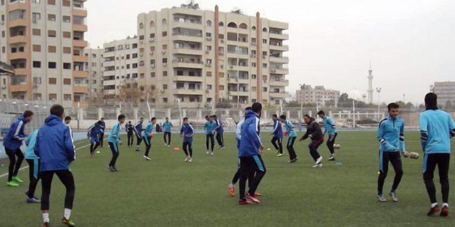 فريق المحافظة يختتم ذهاب دوري الشباب لكرة القدم بالمركز الثالث