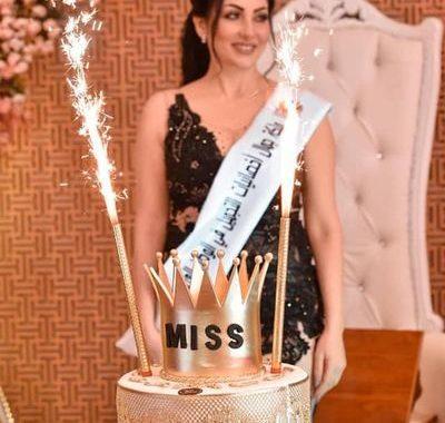 التونسية سماح شعبان ملكة جمال أخصائيات التجميل العرب للعام 2021
