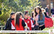أطفال بكرا إلنا يفتحون باب قلعة دمشق