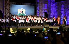 مواهب بكرا إلنا تختتمُ فعاليّات مهرجان الشام الدوليّ للجواد العربيّ مســكاً وإبداعاً