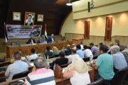 هيئة المكتب التنفيذي للاتحاد الرياضي تناقش التعليمات الانتخابية للدورة العاشرة