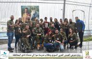 زيارة خاصّة لجرحى الجيش العربيّ السوريّ إلى نادي المحافظة