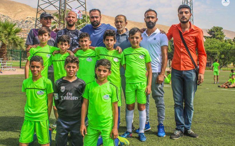 براعم المحافظة بكرة القدم وصيف بطولة دمشق