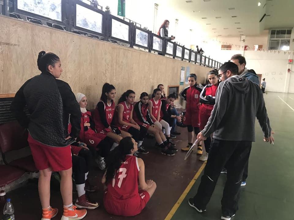 فوز المحافظة على العربي في دوري كرة السلة للسيدات