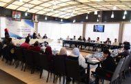 من أجواء جلسات الحوار للاتحاد الوطني لطلبة سورية في نادي المحافظة