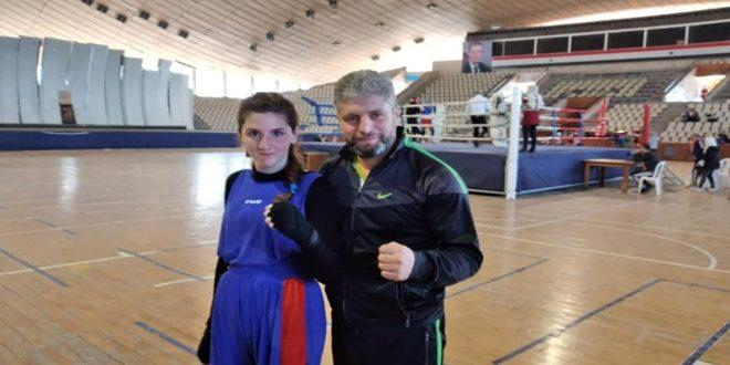 ملاكمتنا الأنثوية تواصل استعدادها للمشاركة بالبطولة العربية بخمسة أوزان أولمبية